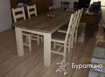 мебели в бяло
